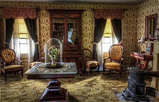 Casa in stile vintage
